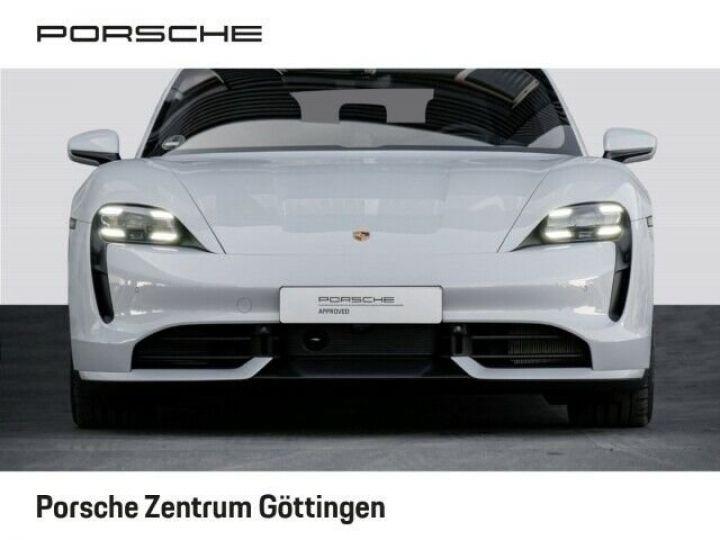 Porsche Taycan TURBO blanc  - 5