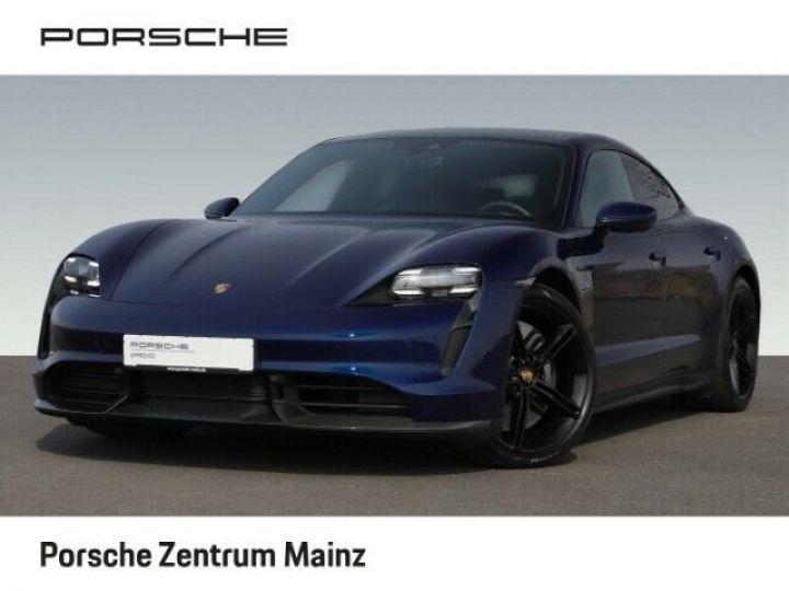 Porsche Taycan  Turbo S PCCB vision nocturne bleu gentiane métallisé - 1