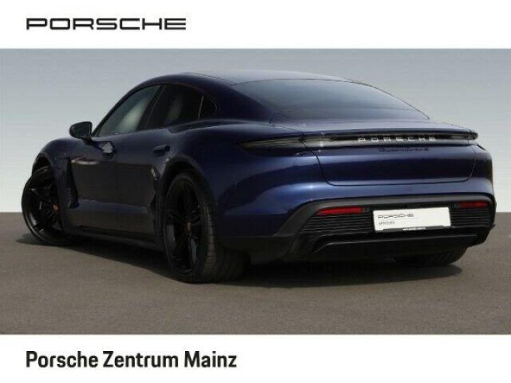 Porsche Taycan  Turbo S PCCB vision nocturne bleu gentiane métallisé - 2