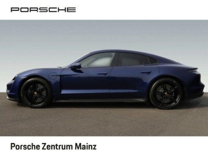 Porsche Taycan  Turbo S PCCB vision nocturne bleu gentiane métallisé - 3