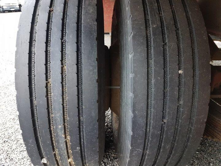 Remolque Kaiser Caja abierta Remorque PLATEAU PORTE-BENNE 2 essieux JAUNE - 21
