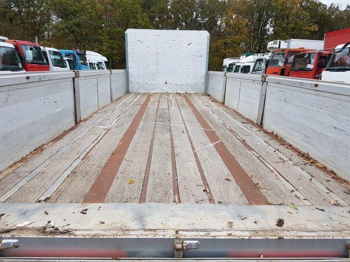 Remolque Trailor Caja abierta Plateau surbaissé à ridelles 7m30 - 2 essieux GRIS - 9