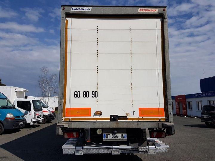 Remolque Fruehauf Caja cerrada + Plataforma elevadora Fourgon + hayon 2500 kg BLANC - 5