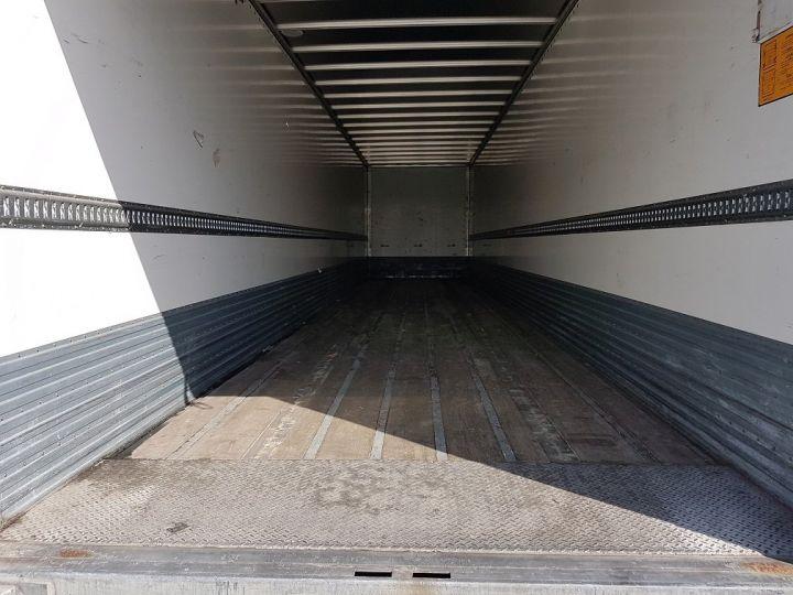 Remolque Fruehauf Caja cerrada + Plataforma elevadora Fourgon + hayon 2500 kg BLANC - 8