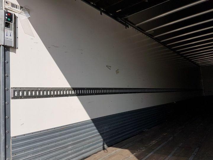Remolque Fruehauf Caja cerrada + Plataforma elevadora Fourgon + hayon 2500 kg BLANC - 9
