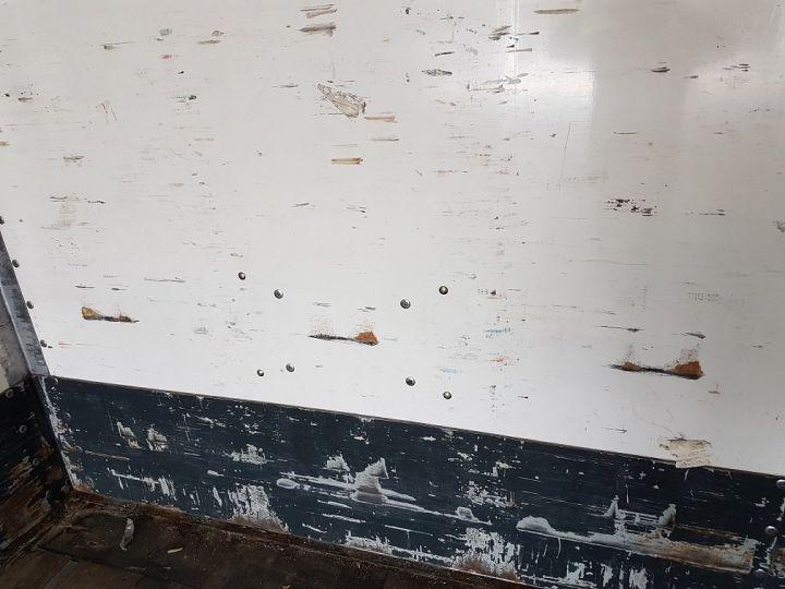 Remolque Fruehauf Caja cerrada + Plataforma elevadora Fourgon + hayon 2500 kg BLANC - 11