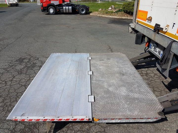 Remolque Fruehauf Caja cerrada + Plataforma elevadora Fourgon + hayon 2500 kg BLANC - 12