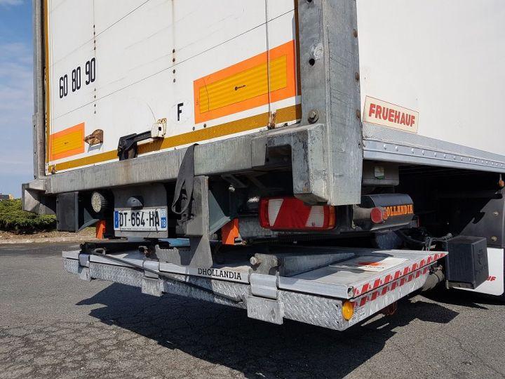 Remolque Fruehauf Caja cerrada + Plataforma elevadora Fourgon + hayon 2500 kg BLANC - 14