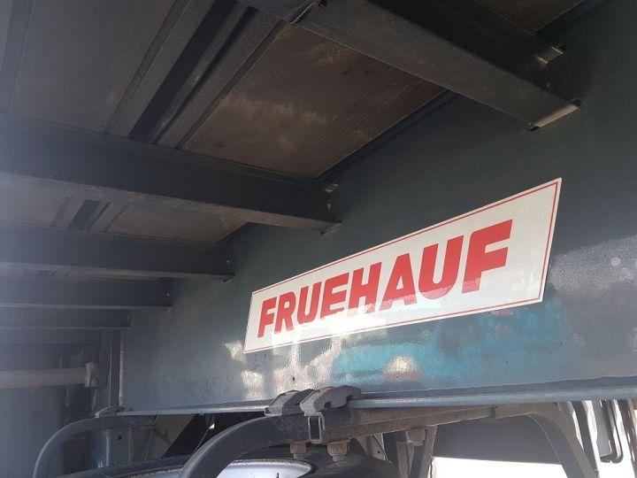 Remolque Fruehauf Caja cerrada + Plataforma elevadora Fourgon + hayon 2500 kg BLANC - 17