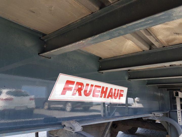 Remolque Fruehauf Caja cerrada + Plataforma elevadora Fourgon + hayon 2500 kg BLANC - 18