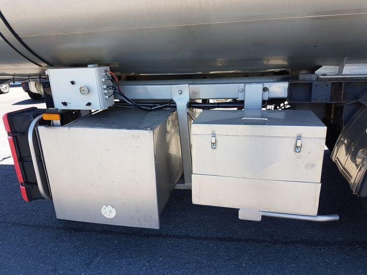 Remolque ETA Cisterna alimentaria Citerne inox 21000 litres 3 cpts GRIS - 12