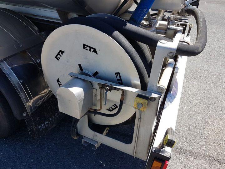 Remolque ETA Cisterna alimentaria Citerne inox 21000 litres 3 cpts GRIS - 13