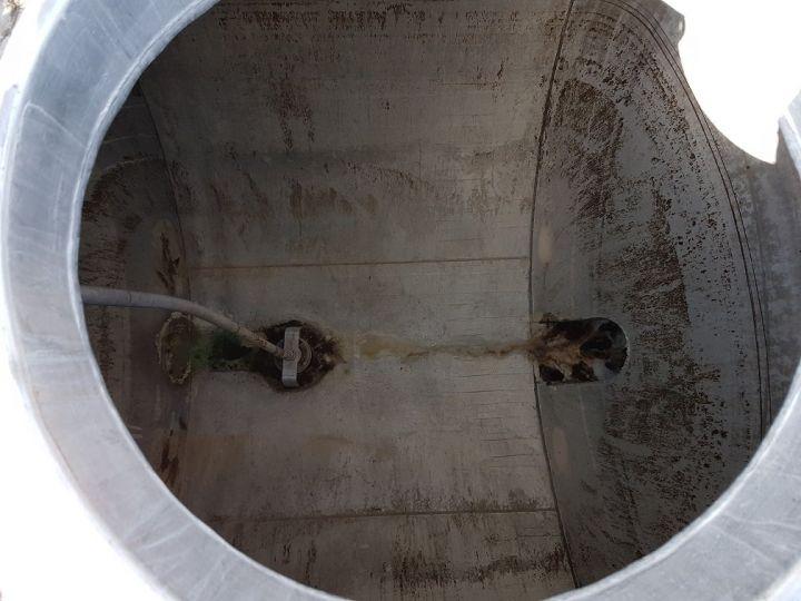 Remolque Indox Cisterna hydrocarburos Citerne acier 28000 litres BLANC - GRIS - 13
