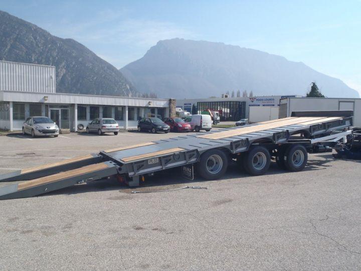 Remolque Castera Gondola lleva maquinas  - 3
