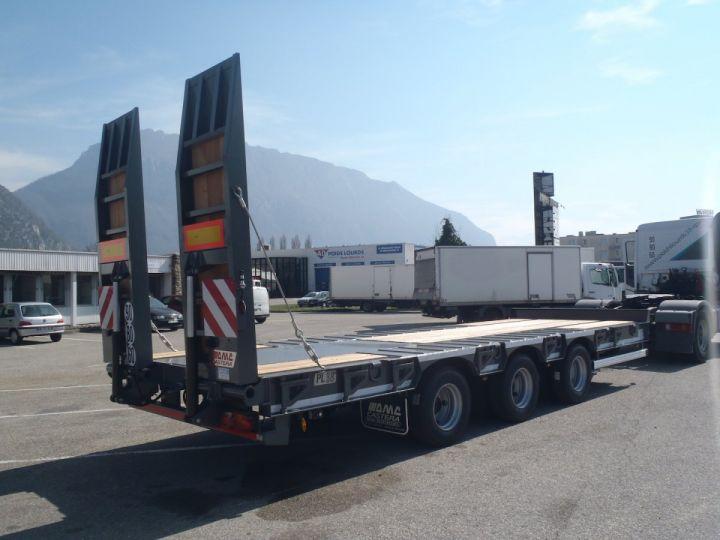 Remolque Castera Gondola lleva maquinas  - 6
