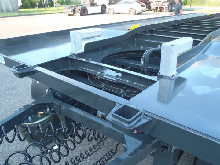 Remolque Trax Multibasculante Ampliroll porte-caisson NEUVE et DISPO Gris foncé - 8