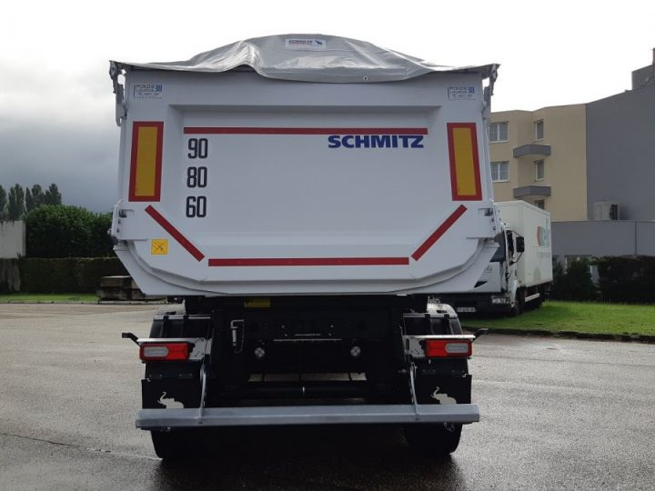 Remolque Schmitz Benne acier renforcée DISPO Blanche - 5