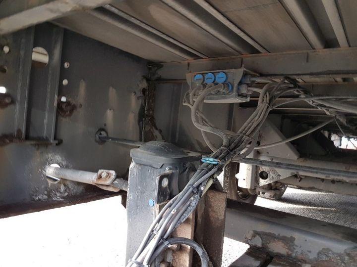Remolque Fruehauf Tauliner P.L.S.C. RIDELLES - 3 essieux BLANC - NOIR - GRIS - 16