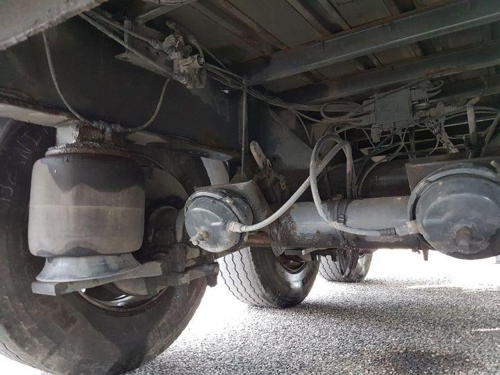 Remolque Fruehauf Tauliner P.L.S.C. RIDELLES - 3 essieux BLANC - NOIR - GRIS - 18