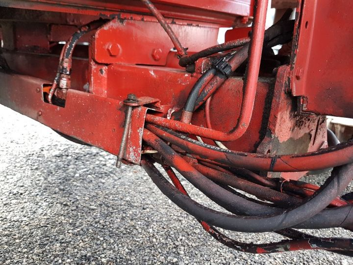 Remolque Fruehauf TX 34 Tauliner P.L.S.C. à ridelles + HAYON BLANC ET ROUGE - 12