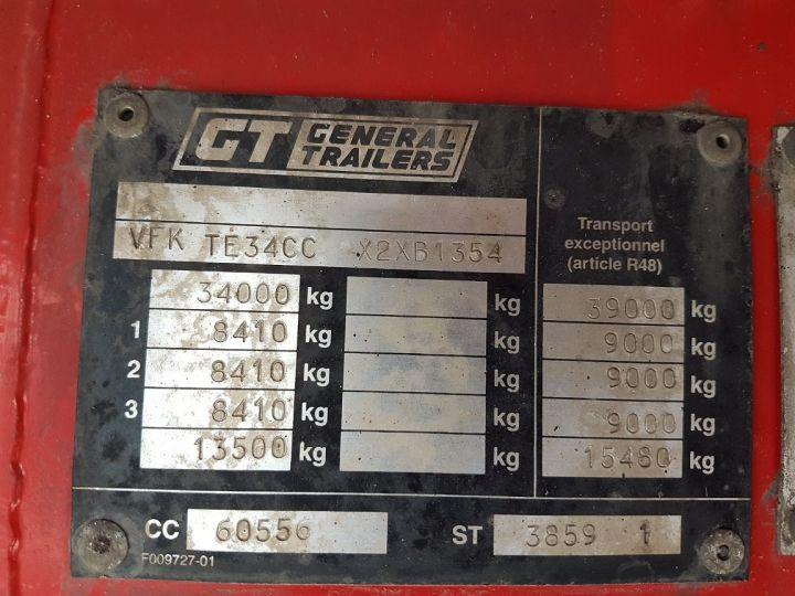 Remolque Fruehauf TX 34 Tauliner P.L.S.C. à ridelles + HAYON BLANC ET ROUGE - 21