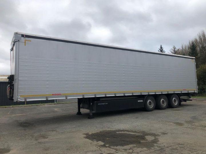 Remolque Kogel Tauliner 3 ESSIEUX PLSC HAYON ELEVATEUR GRIS - 1