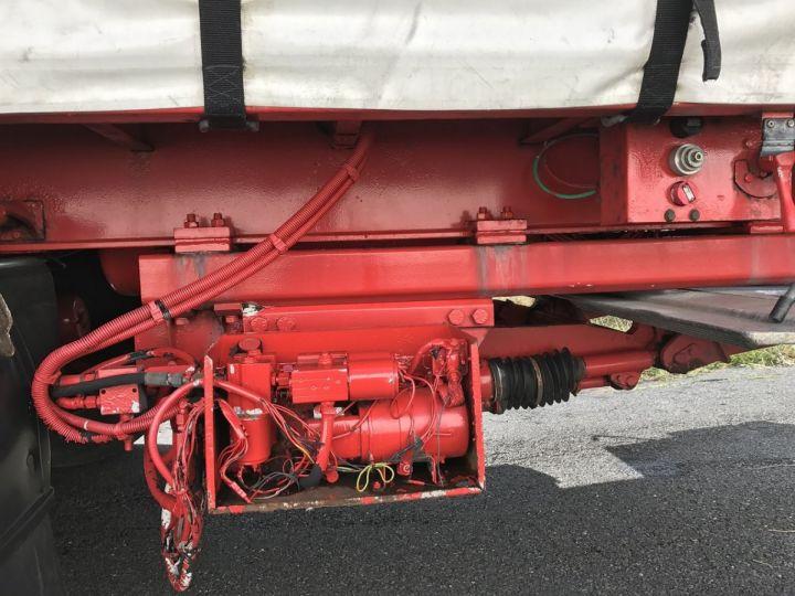 Remolque Lecitrailer Tauliner RIDELLES et HAYON ELEVATEUR BLANC et ROUGE - 11