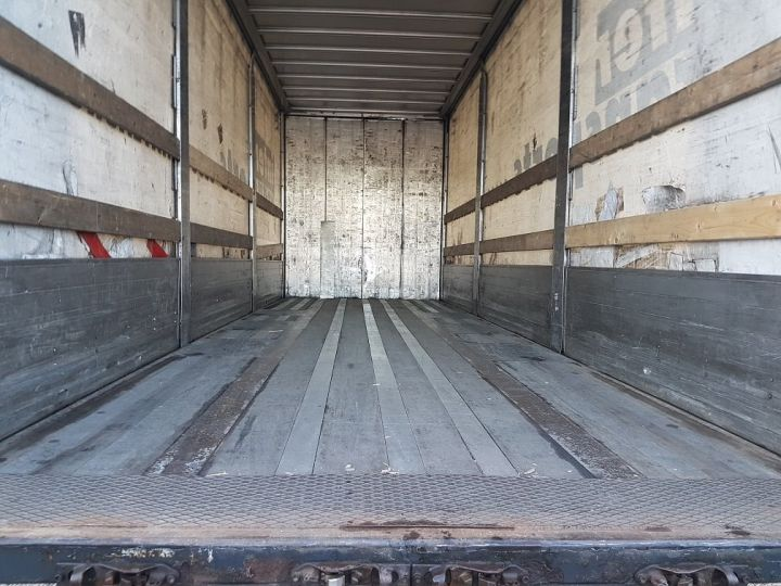 Remolque Samro Tauliner Remorque 3 essieux P.L.S.C. à ridelles 8m20 BLANC - GRIS - NOIR - 7