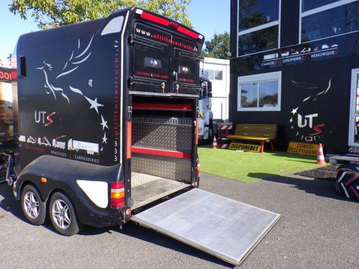 Remolque Transporte de caballos Noir - 3