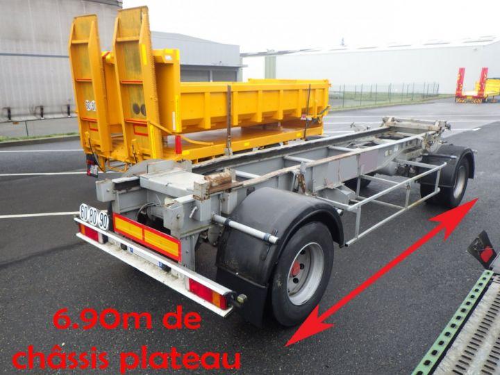 Remolque Fruehauf Transporte de contenedores Gris - 2