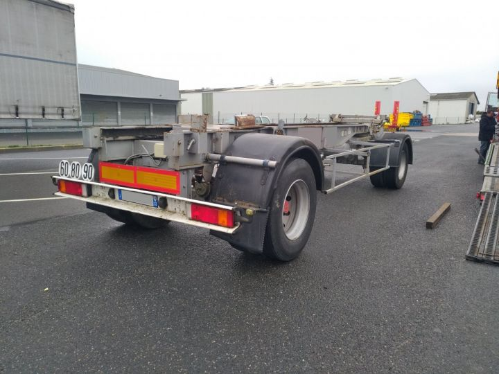 Remolque Fruehauf Transporte de contenedores Gris - 1