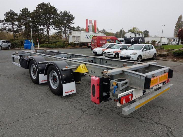 Remolque Fruehauf Transporte de contenedores Remorque 2 essieux PORTE-CAISSE MOBILE GRIS - 4