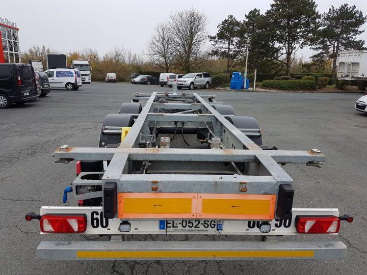 Remolque Fruehauf Transporte de contenedores Remorque 2 essieux PORTE-CAISSE MOBILE GRIS - 5