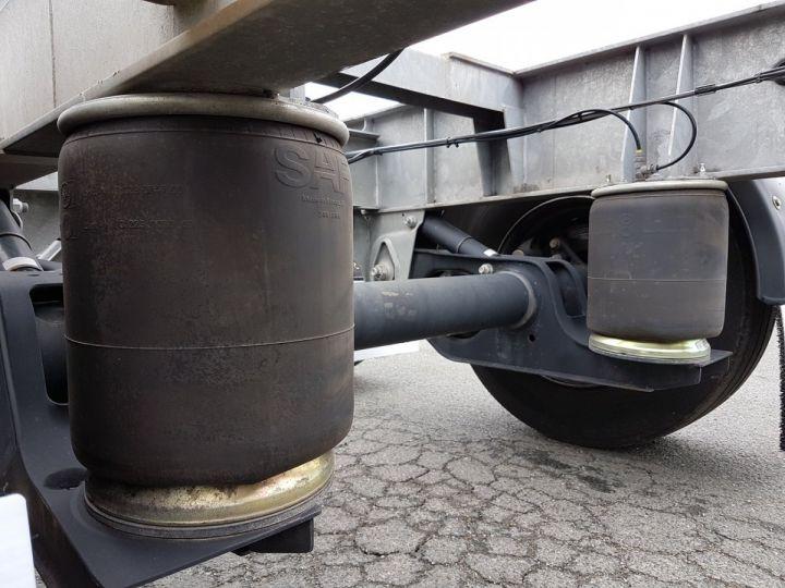 Remolque Fruehauf Transporte de contenedores Remorque 2 essieux PORTE-CAISSE MOBILE GRIS - 12