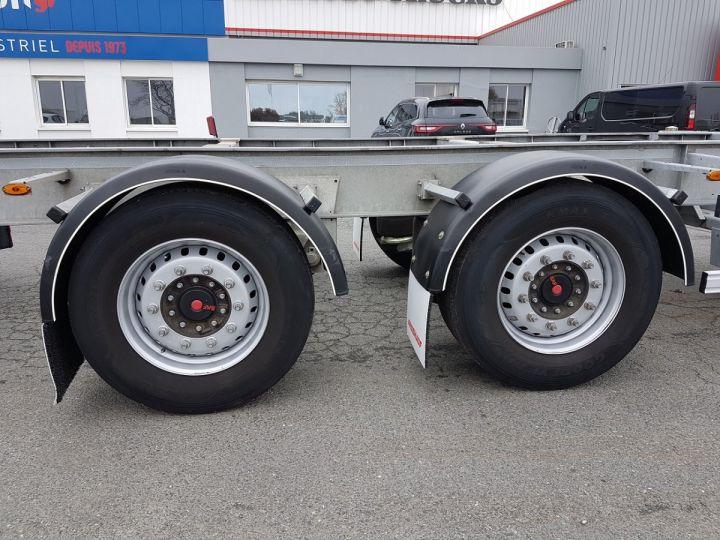 Remolque Fruehauf Transporte de contenedores Remorque 2 essieux PORTE-CAISSE MOBILE GRIS - 13