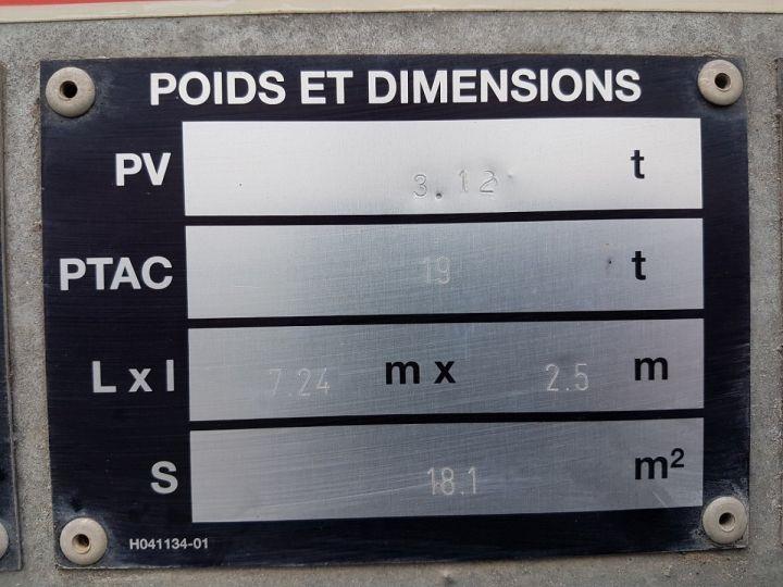 Remolque Fruehauf Transporte de contenedores Remorque 2 essieux PORTE-CAISSE MOBILE GRIS - 18