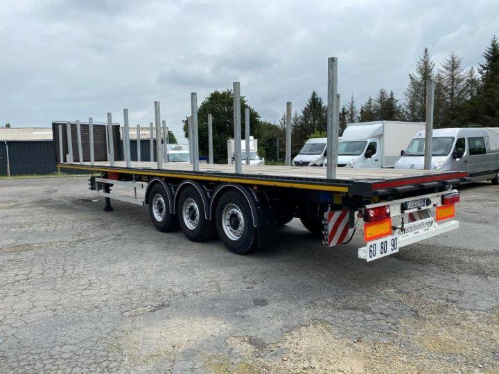 Remolque Kässbohrer Transporte de contenedores KASSBOHRER 3 ESSIEUX PLATEAU MULTIMODAL PORTE CONTENEURS  - 5