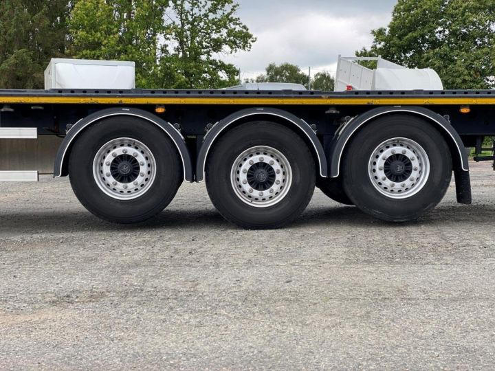 Remolque Kässbohrer Transporte de contenedores KASSBOHRER 3 ESSIEUX PLATEAU MULTIMODAL PORTE CONTENEURS  - 12