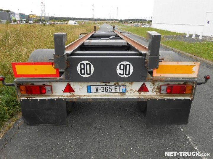 Remolque Pomiers Transporte de contenedores PORTE-BENNE AMOVIBLE 7m. GRIS - 5