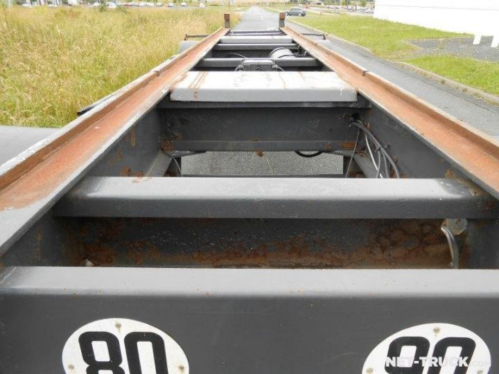 Remolque Pomiers Transporte de contenedores PORTE-BENNE AMOVIBLE 7m. GRIS - 6
