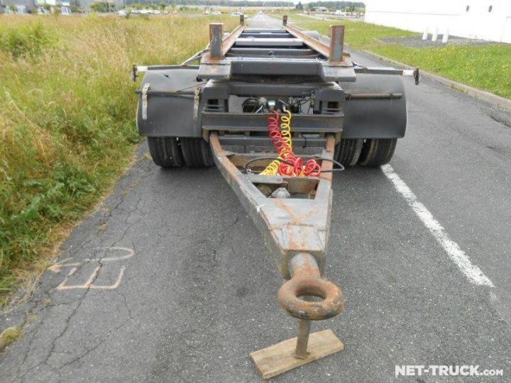 Remolque Pomiers Transporte de contenedores PORTE-BENNE AMOVIBLE 7m. GRIS - 7