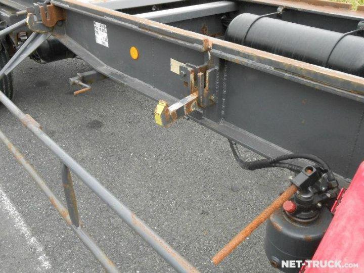 Remolque Pomiers Transporte de contenedores PORTE-BENNE AMOVIBLE 7m. GRIS - 10