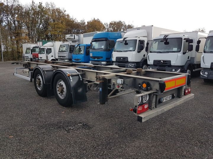 Remolque Samro Transporte de contenedores PORTE-CAISSE MOBILE 7m82 GRIS - 4
