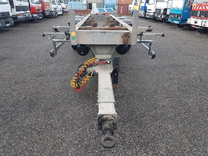 Remolque Samro Transporte de contenedores PORTE-CAISSE MOBILE 7m82 GRIS - 6