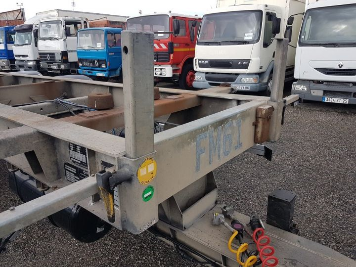 Remolque Samro Transporte de contenedores PORTE-CAISSE MOBILE 7m82 GRIS - 7