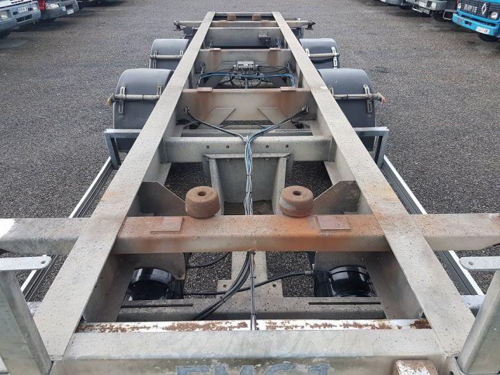 Remolque Samro Transporte de contenedores PORTE-CAISSE MOBILE 7m82 GRIS - 10