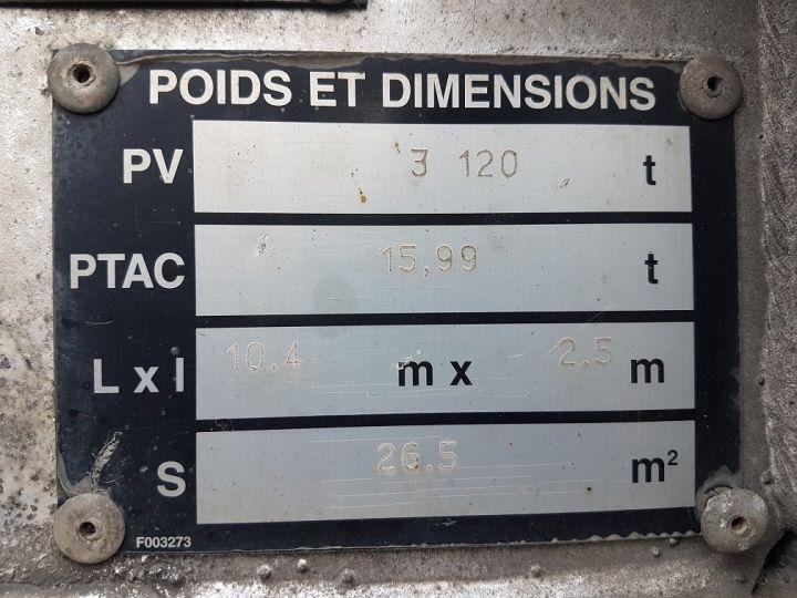 Remolque Samro Transporte de contenedores PORTE-CAISSE MOBILE 7m82 GRIS - 18