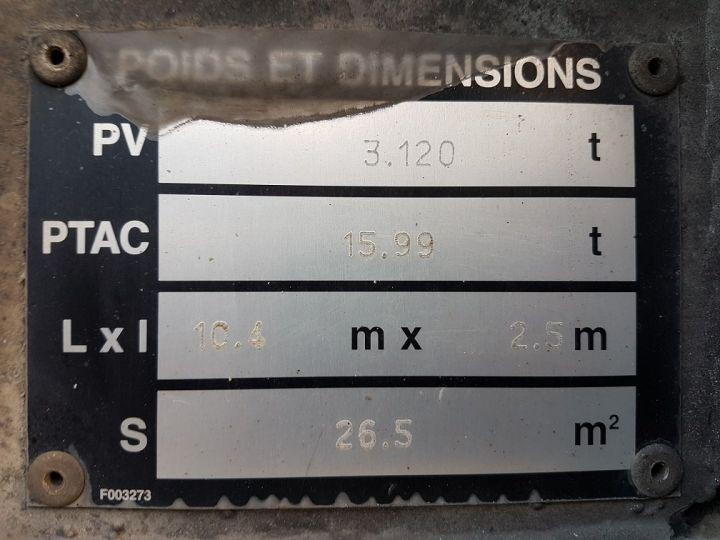Remolque Samro Transporte de contenedores PORTE-CAISSE MOBILE 7m82 GRIS - 20