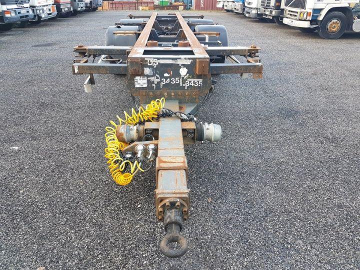 Remolque Samro Transporte de contenedores Remorque 2 essieux PORTE-CAISSE MOBILE NOIR - 6