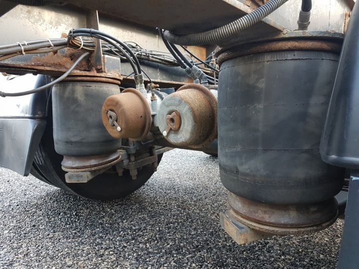 Remolque Samro Transporte de contenedores Remorque 2 essieux PORTE-CAISSE MOBILE NOIR - 9